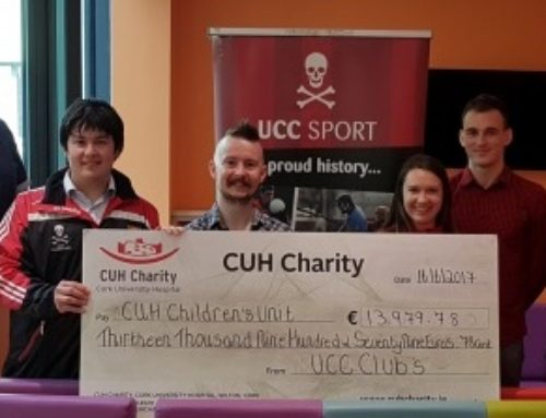 UCC Sport Raises 14K for CUH Children's Unit
