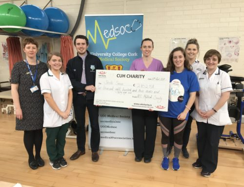 The very first 'UCC Med Day' raises funds for a new Stroke Unit at CUH