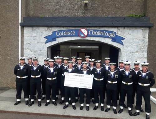 42nd Potential NCO, Irish Naval Service raise €6,232.46 for CUMH