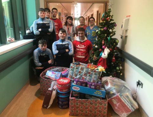 special Christmas toy donation for children's unit