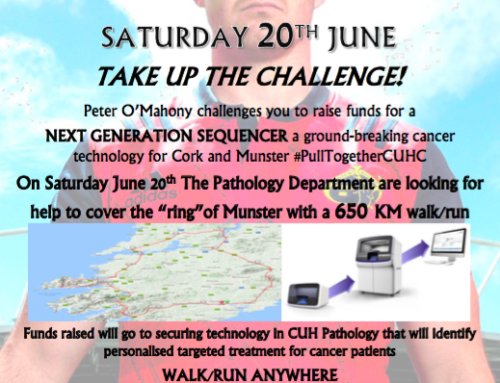 SHOW YOUR SUPPORT FOR THE CUH PATHOLOGY DEPARTMENT 650KM 'RING OF MUNSTER' CHALLENGE